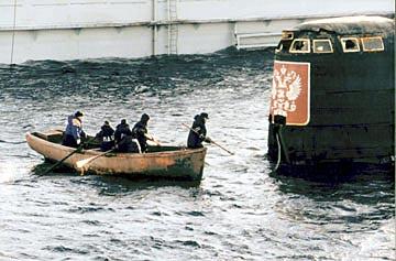 американцы подняли лодку