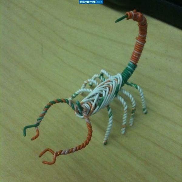 Скорпион сделать своими руками