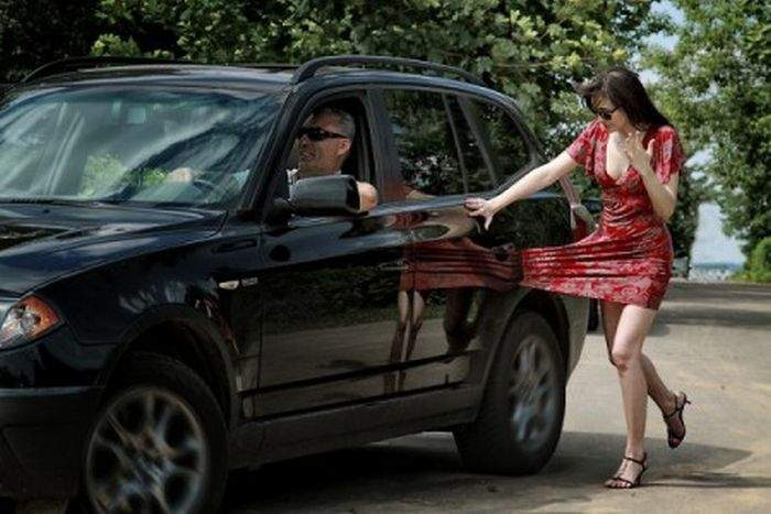 знакомство с девушками если ты на машине