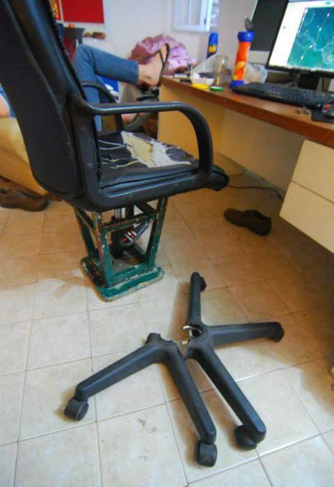 Ремонт компьютерного кресло своими руками 24