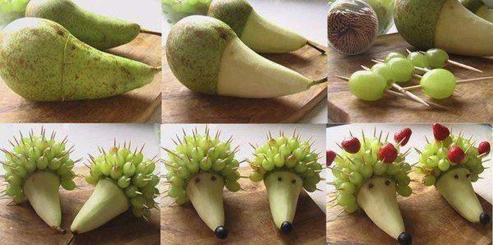 Поделки из фруктов и овощей - Поделки, делаем самостоятельно