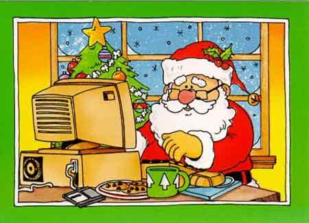 Новый год и компьютер